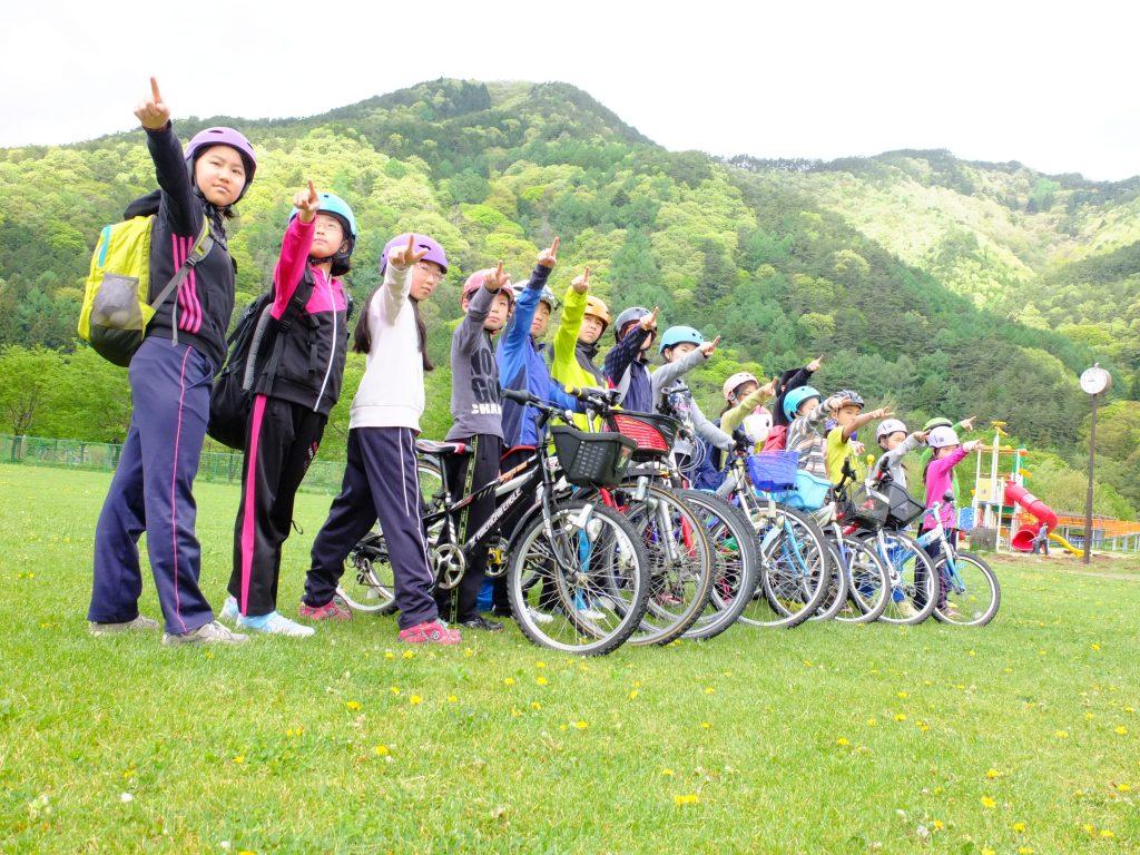 山村留学 ツーリングキャンプ